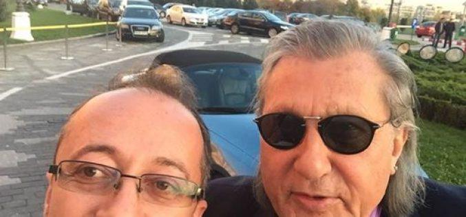 Senatorul Dobra, selfie de adio cu Ilie Năstase
