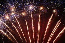 Localitățile județului luminate de focurile de artificii la cumpăna dintre ani