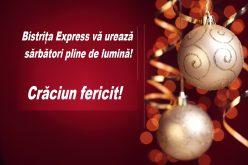 Bistrița Express vă urează Crăciun Fericit și sărbători liniștite alături de cei dragi!