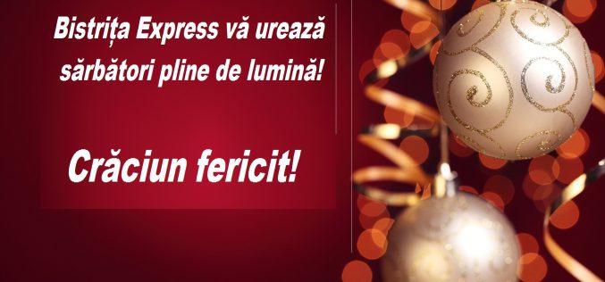 Sărbătorile de iarnă să vă aducă liniștea, puterea și echilibrul pentru intrarea în Noul An!