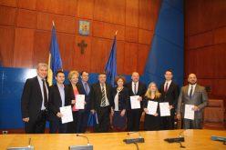 Bistrițenii din lotul nou pentru Parlament și-au primit certificatul