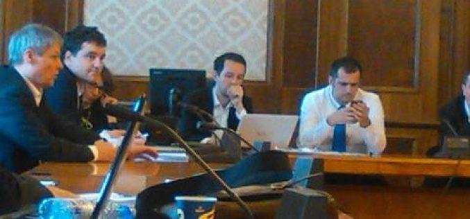 Dacian Cioloș anunță la USR înființarea unui ONG care să sprijine opoziția-vezi ce parlamentar bistrițean a participat la întâlnire