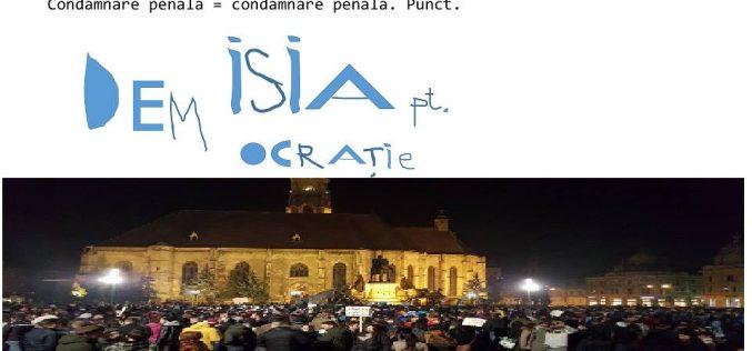 Peste 134000 de români au semnat pentru demiterea Avocatului Poporului-vezi ce bistrițeni sprijină petiția