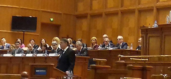 """Președintele Iohannis:""""Ați câstigat, acum guvernati si legiferați, dar nu noaptea pe furiș"""""""