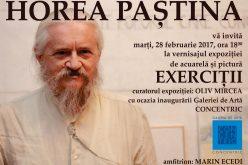 """Galerie de artă bistrițeană inaugurată printr-o expoziție semnată Horea Paștină. """"Concentric"""" pornește la drum cu 50 de lucrări care pătrund în intimitatea atelierului de creație a artistului"""