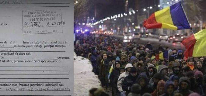 Bistrițenii se organizează pentru a doua zi de proteste. Și Becleanul are inițiativă
