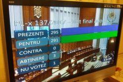 Ordonanța 13 e istorie. Deputații, inclusiv inițiatorul Iordache au respins-o fără mofturi