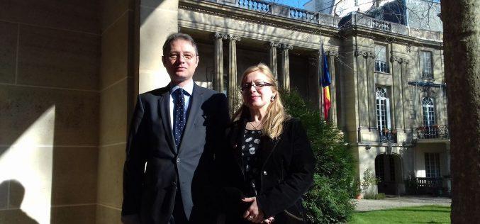 Deputatul Cristina Iurișniți-întâlniri la Paris pentru promovarea identității culturale și turistice a Bistriței