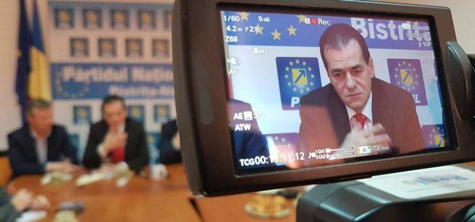 """Orban în campanie internă la Bistrița: """"Nu voi interveni niciodată în PNL pentru a impune oameni pe liste"""""""