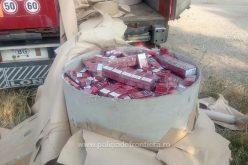 Percheziții concomitente în Bistrița-Năsăud și în Spania la contrabandiștii de țigări