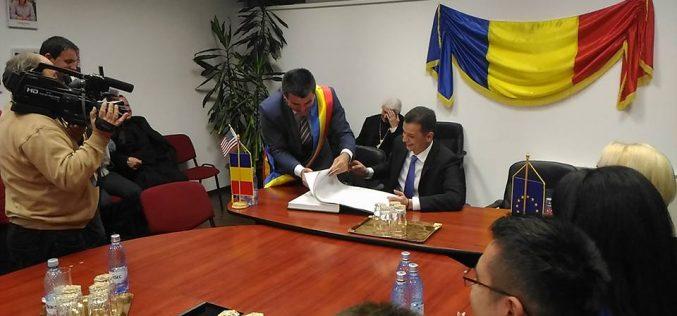 Premierul Grindeanu a fost primit luni seara la Beclean, dimineață este așteptat la Năsăud și Bistrița