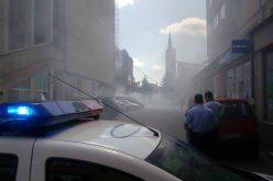 Un incendiu violent la o anexa de la Bingo Metropolis a compromis instalația electrică a clădirii. Mai mulți chiriași printre care AJOFM au rămas fără electricitate
