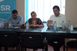 Nicușor Dan la Bistrița: candidez din nou în funcție de rezultatul referendumului intern