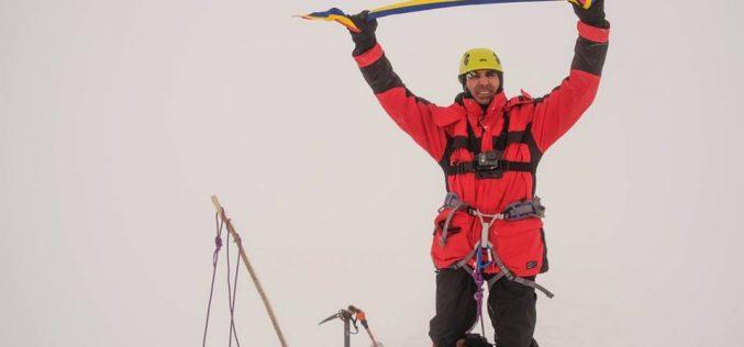 Profesorul Bâca de neoprit: a escaladat MontBlanc la două săptămâni după Elbrus (VIDEO)