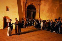 Noaptea Bisericii Evanghelice a fost albă până la 3 dimineața, cu concert în turn și dansuri medievale afară