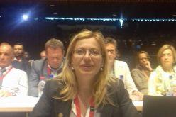 Deputatul Cristina Iurișniți l-a confruntat pe ministrul Liviu Pop la propria conferință