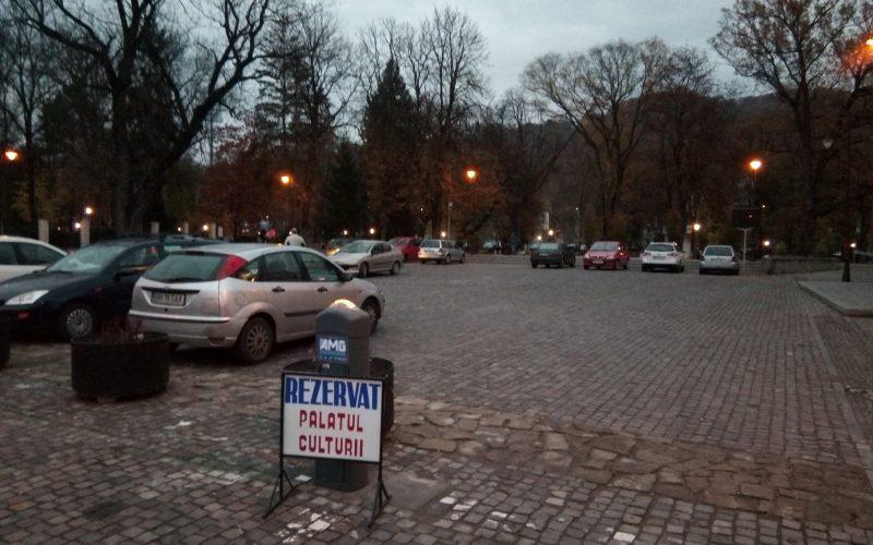 Șefii de la Palatul Culturii au făcut dispărută bariera fără autorizație, după ce poliția a confirmat începerea unei anchete