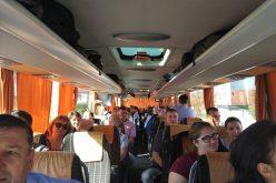 Sindicaliștii bistrițeni din Sanitas, cu autocarul la mitingul din capitală
