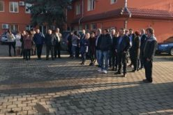 Angajații de la APIA Bistrița-Năsăud au protestat astăzi împotriva diminuării salariilor nete de la 1 ianuarie