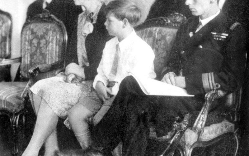 Regele Mihai a vizitat Năsăudul pe când avea 13 ani. A fost unica sa vizită în județ înainte de 1989