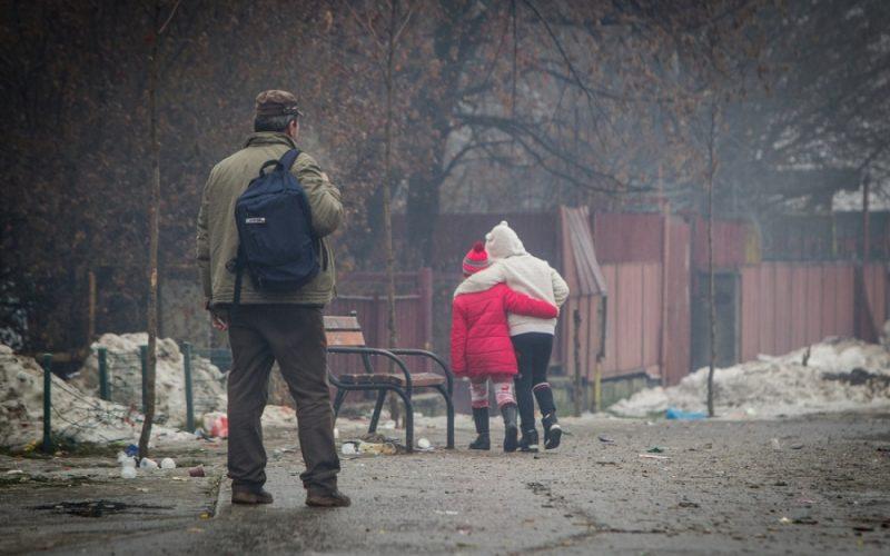 Campanie în BN : cu asistenții sociali după chiulangii