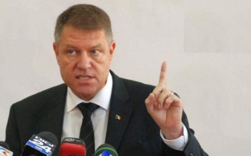 """Klaus Iohannis: """"pe bună dreptate s-au revoltat magistrații. Cum se trezește un politician care este și infractor să meargă la TV să amenințe"""""""