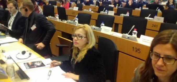 Cristina Iurișniți a vorbit în Parlamentul European despre stereotipii și egalitatea de gen în România
