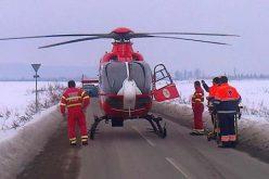 Intervenție dramatică cu elicopterul SMURD la Bichigiu