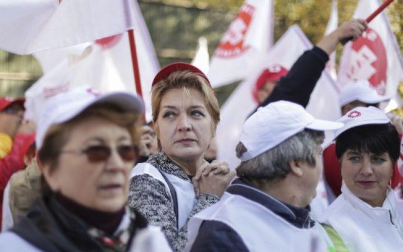 Sanitas anunță acțiuni greviste: bistrițenii vor trimite câțiva oameni la o pichetare și se vor solidariza cu cei care pot face grevă generală