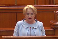 Discursul Vioricăi Dăncilă în care se lăuda că a depășit ținta de deficit asumată a devenit viral pe internet
