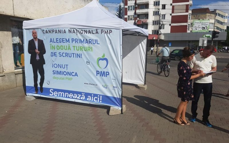 Campania de semnături pentru revenirea la două tururi de scrutin în alegerea primarului a trecut la etapa superioară