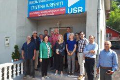 Orașul Sângeorz Băi are cabinet parlamentar de la USR. Sâmbătă a fost inaugurarea