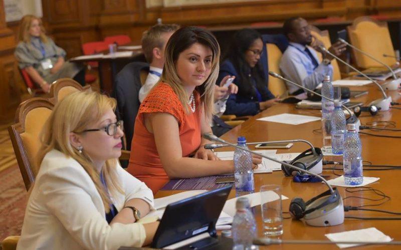 Deputatul Cristina Iurișniți participă la conferința președinților delegațiilor din Adunarea parlamentară a francofoniei