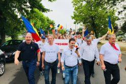 """Liderii PSD Bistrița-Năsăud au mers pe principiul:"""" noi protestăm, nu postăm"""""""