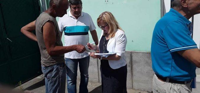 Deputatul USR Cristina Iurișniți și-a deschis cabinet parlamentar și în Năsăud, după cele din Bistrița, Prundu Bârgăului și Sângeorz Băi