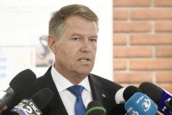 """Președintele Iohannis: Suntem în faza în care cel mai mare partid din România se constituie într-un grup de lobby pentru un infractor"""""""