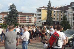 Protest și astăzi la Bistrița, dar cu ora modificată. Până în 24 iunie vor fi organizate proteste de la ora 19,00
