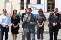 Tășuleasa Social a lansat proiectul unui Via Camino de România: 950 de kilometri de poteci din Drobeta Turnu Severin până la Putna. Principele Nicolae și Alin Ușeriu la inaugurare