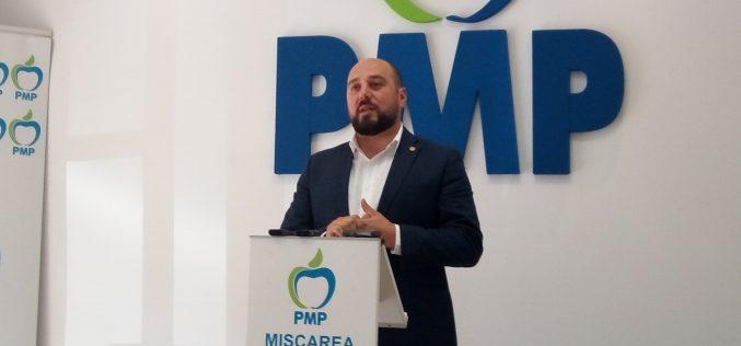 Deputatul Simionca va candida pentru vicepreședinte național la Congresul în care Băsescu predă conducerea PMP