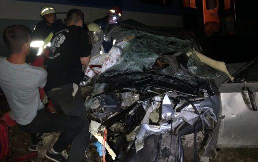 Victimele teribilului accident de azi noapte de la Feldru sunt politraumatizate. Cel mai grav, un tânăr de 21 de ani e internat la Cluj