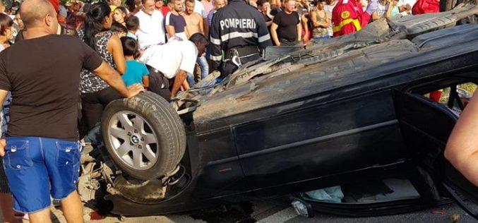 Un adolescent de 15 ani a murit duminică într-un teribil accident în Dipșa