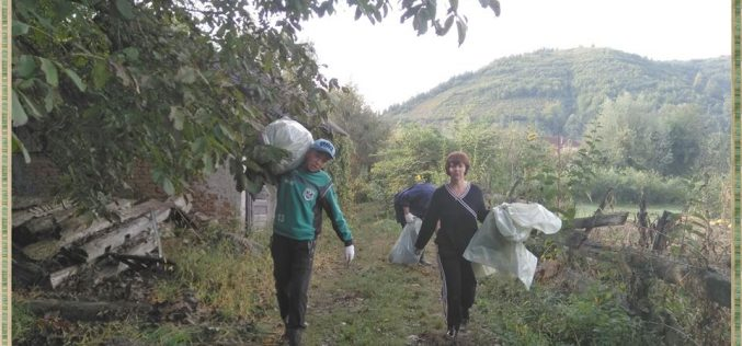 """Bistrița-Năsăud în prima parte a clasamentului """"Let`s Do It, România!"""" la cantitatea de deșeuri strânsă de voluntari"""