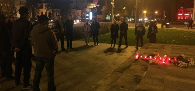 Tragedia de la Colectiv a fost comemorată și la Bistrița