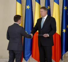 Ceremonia fulger la Cotroceni pentru investirea lui Daniel Suciu și Răzvan Cuc. Vezi cât a durat