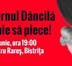 Miting luni la Bistrița pentru demiterea Guvernului Dăncilă